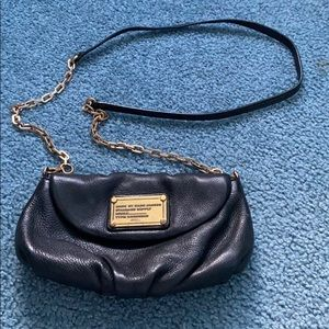 Black and gold Marc Jacobs Crossbody